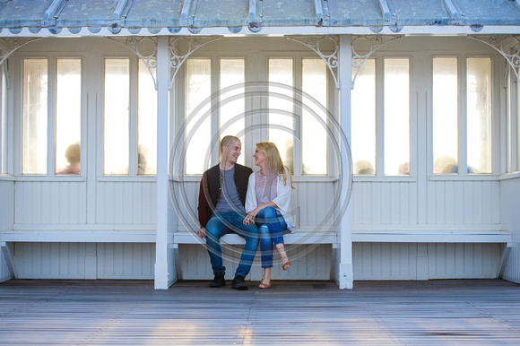 Norfolk Wedding photographer Cromer Pier